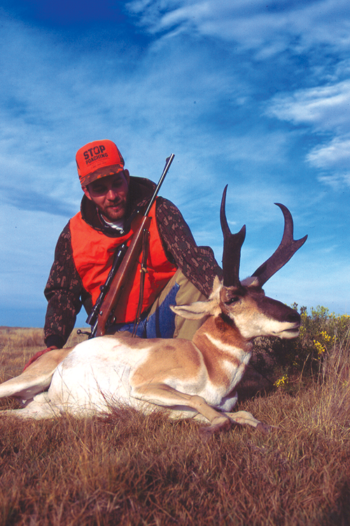 Hunter w-antelope