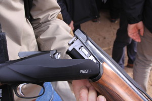 Sporting clays can be shot with any shotgun that holds two or more rounds. The over/under is the most popular choice here in the U.S.