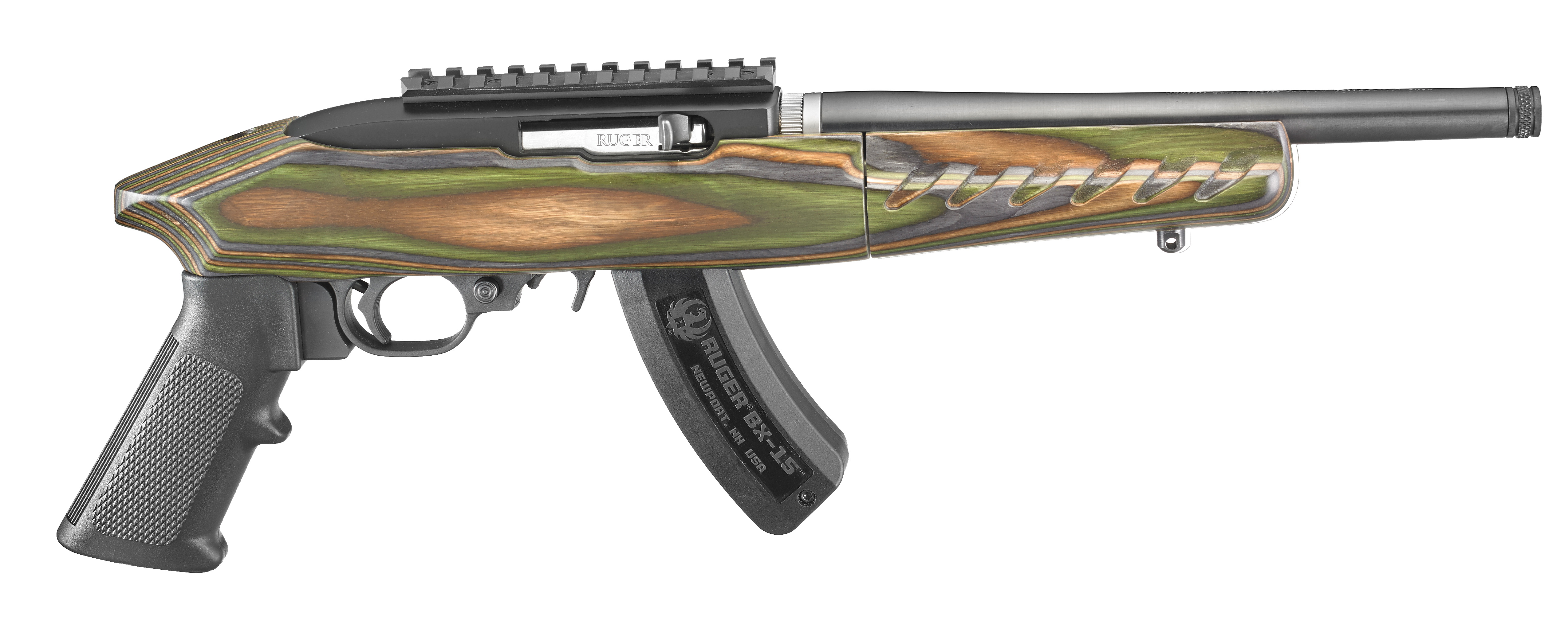 Ruger's Charger Pistoles With A Top Rail On The Receiver For This  Reason,