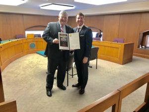 Georgia State Senator David Shafer with NSSF's Trevor Santos