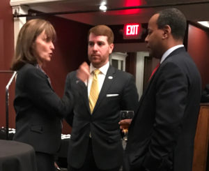 Tennessee Speaker of the House Beth Harwell speaks with NSSF's Trevor Santos and Raymon White about legislative initiatives.